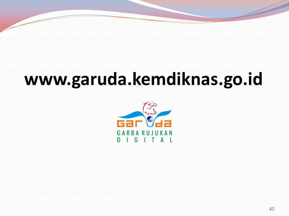 www.garuda.kemdiknas.go.id 40