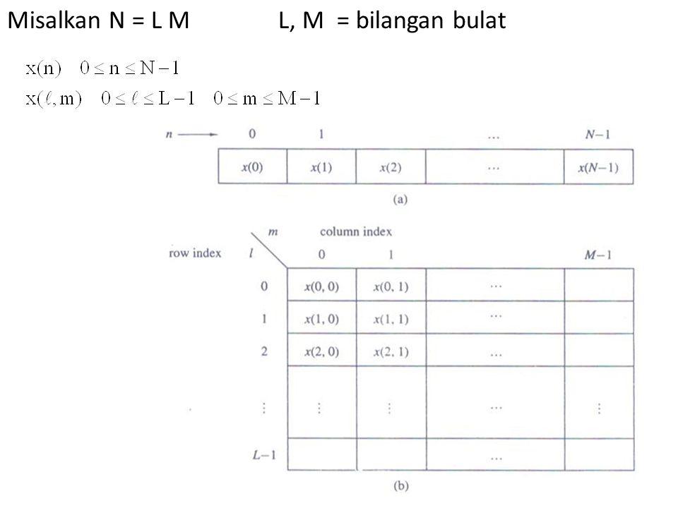 Misalkan N = L ML, M = bilangan bulat
