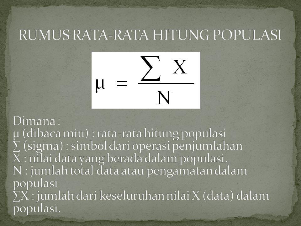 Sampel adalah suatu bagian atau proporsi dari populasi tertentu yang menjadi kajian atau perhatian.