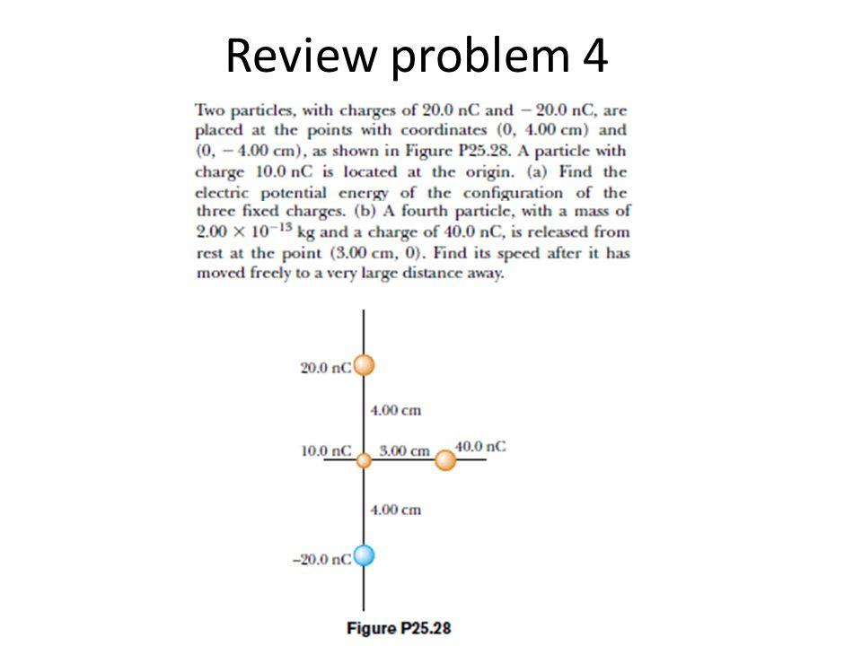 Review problem 4