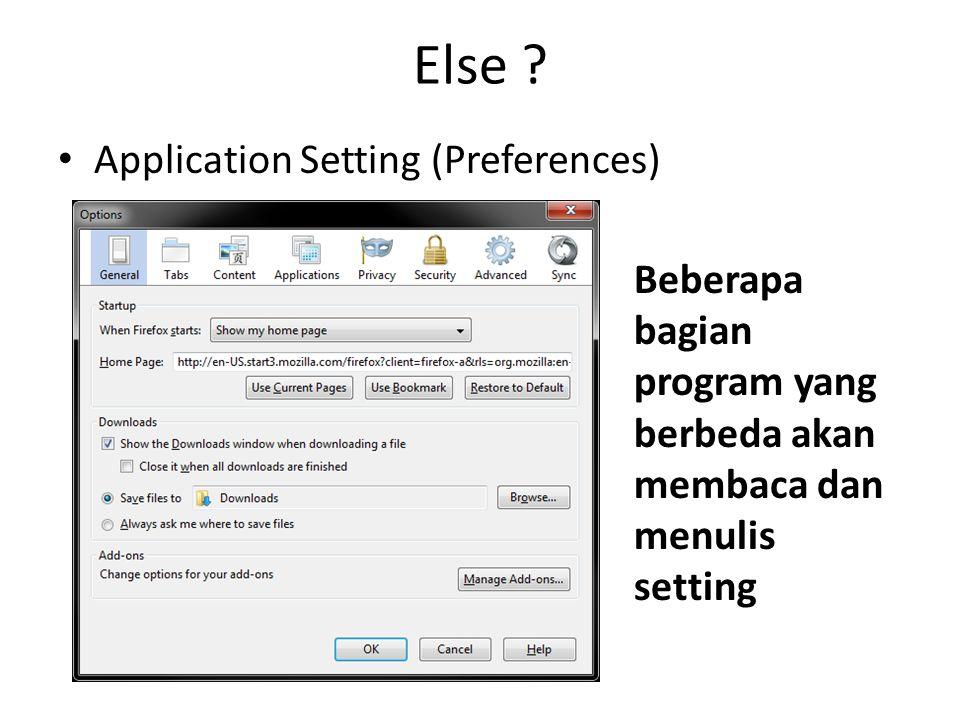 Else .