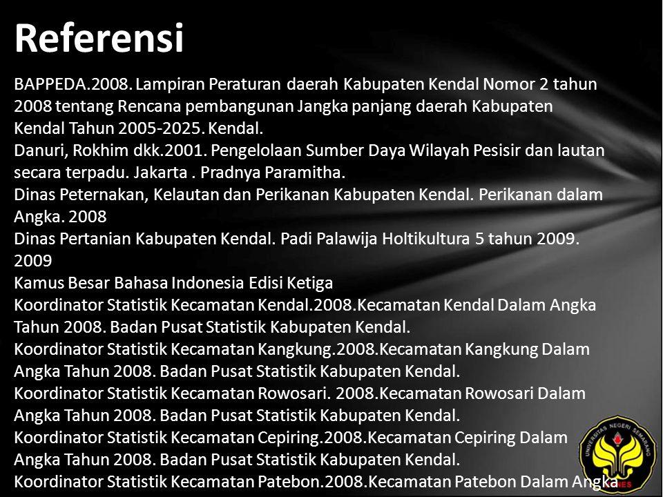Referensi BAPPEDA.2008.