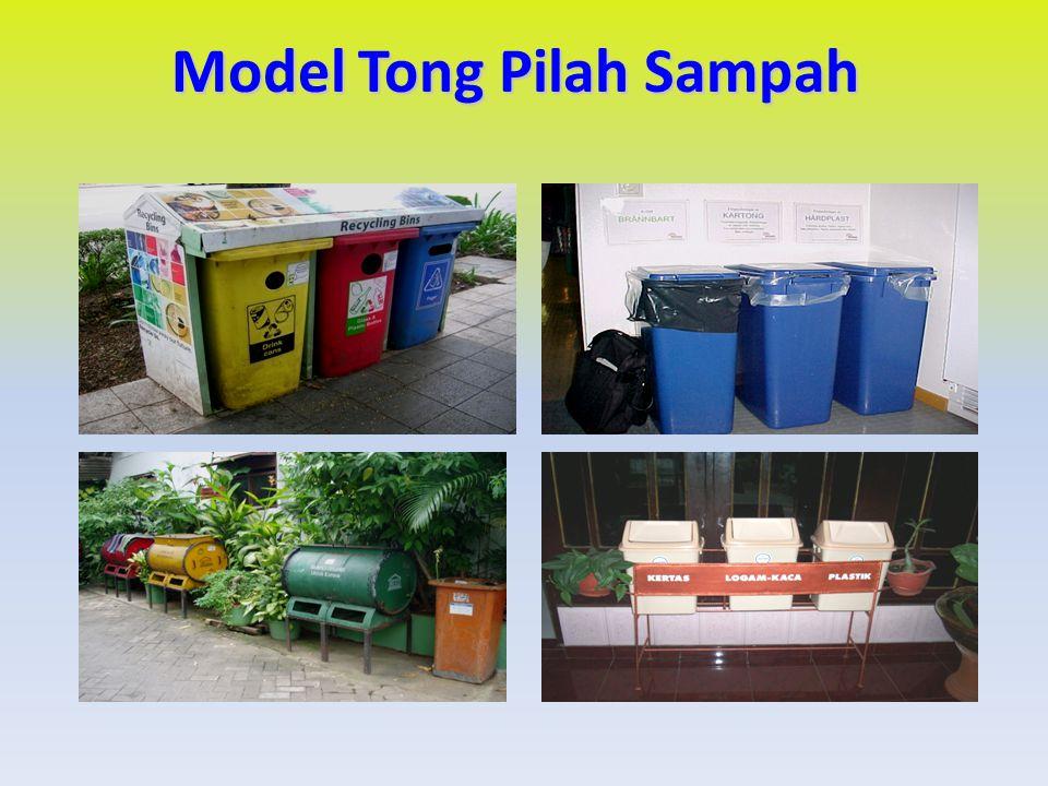 Model Tong Pilah Sampah