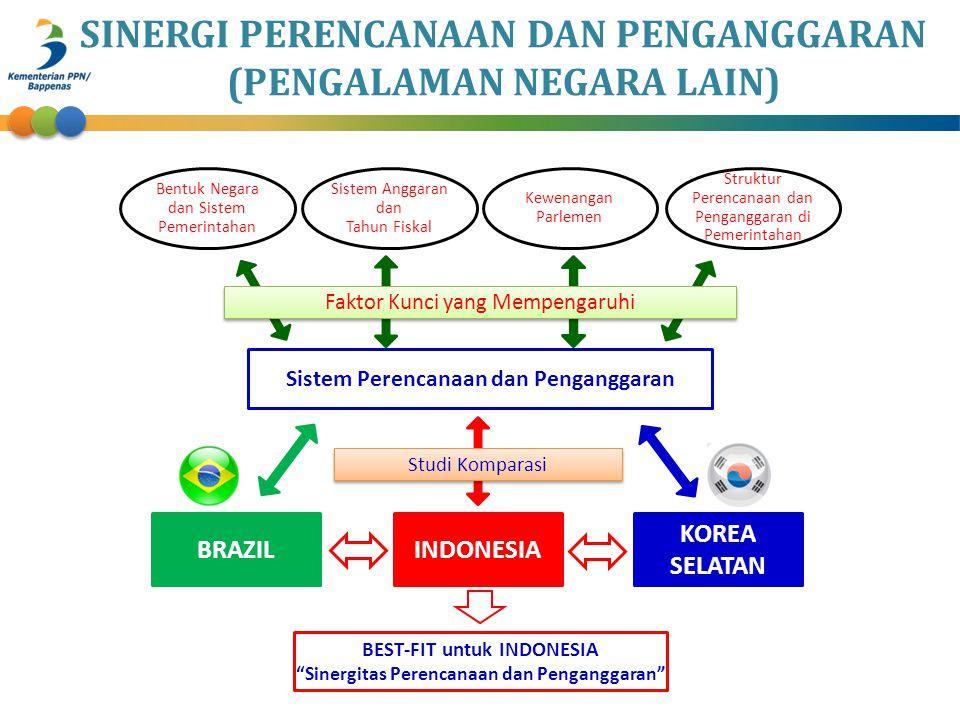 Sistem Perencanaan dan Penganggaran Bentuk Negara dan Sistem Pemerintahan Sistem Anggaran dan Tahun Fiskal Kewenangan Parlemen Struktur Perencanaan da