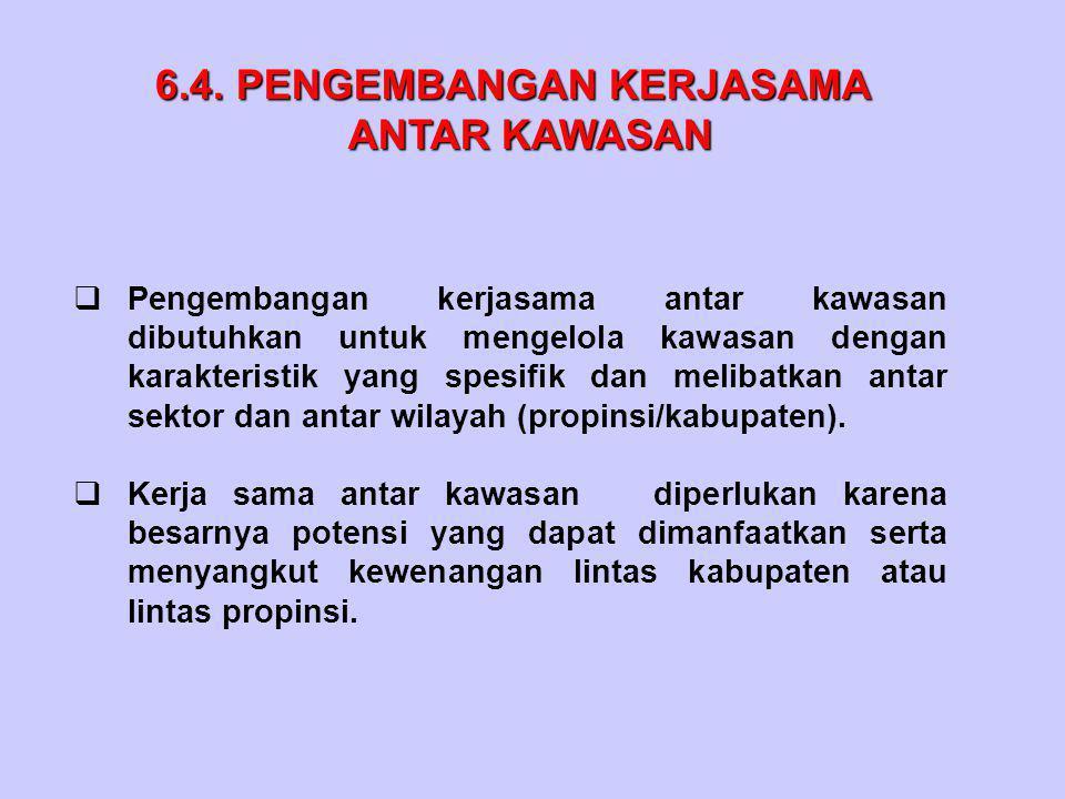 6.4.PENGEMBANGAN KERJASAMA 6.4.