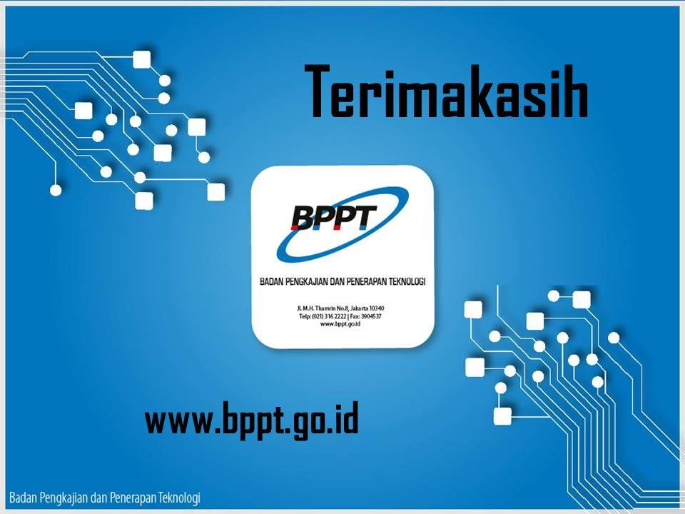 Terimakasih www.bppt.go.id