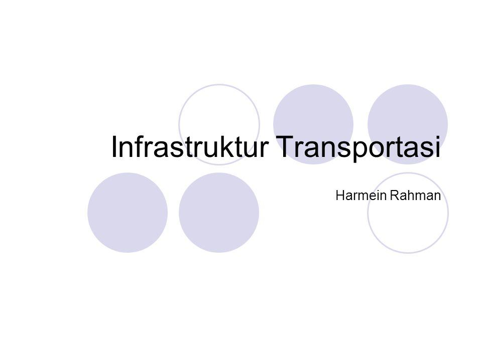 Infrastruktur Transportasi Harmein Rahman
