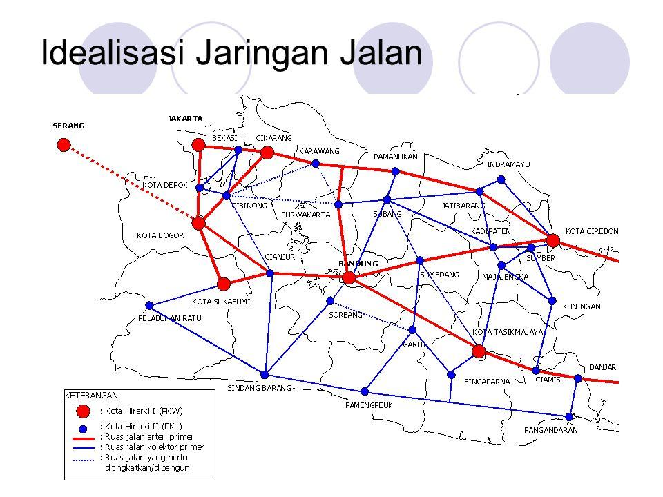 Idealisasi Jaringan Jalan
