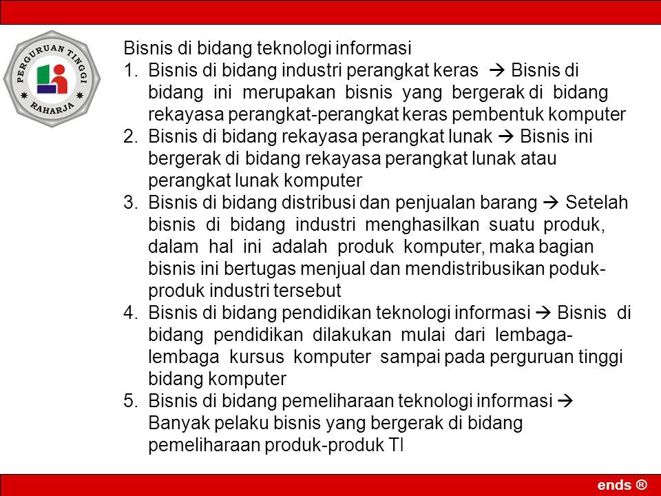 ends ® BAGAIMANA POSISI INDUSTRI KREATIF DI INDONESIA?