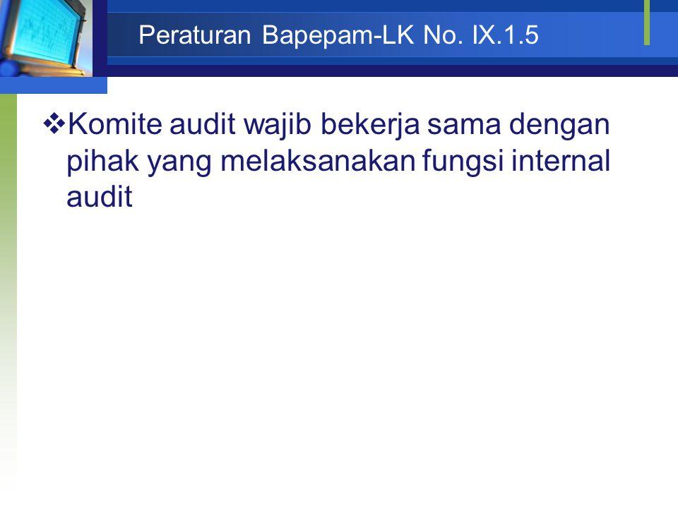 Peraturan Bapepam-LK No.