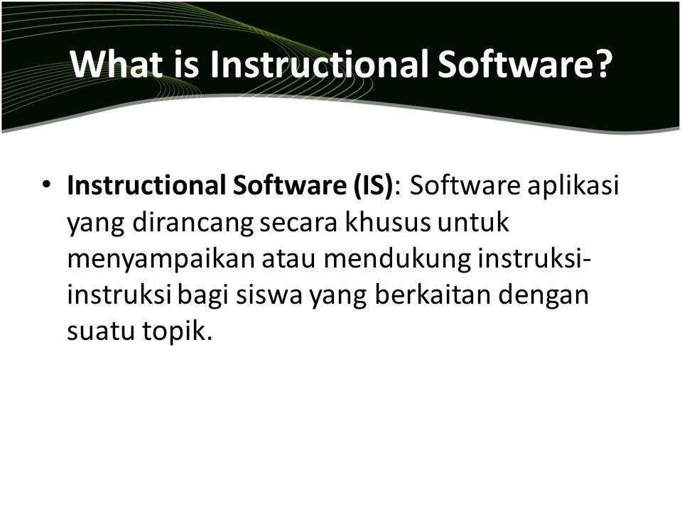 Criteria for selecting good drill- and-practice software  Kontrol atas kecepatan presentasi soal.