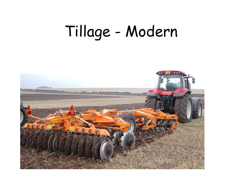 Tillage - Modern