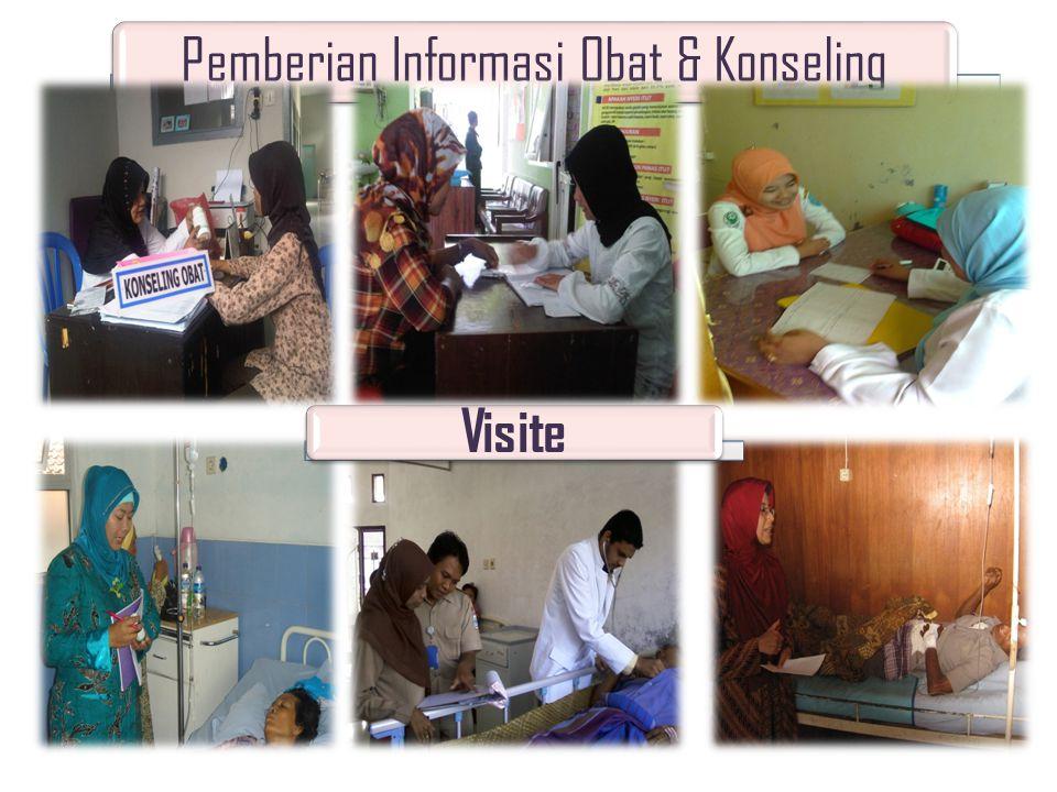 Pemberian Informasi Obat & Konseling Visite