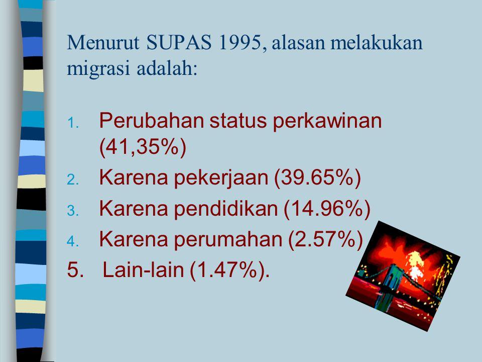 Masalah Migrasi dan Sektor Informal n Strategi industrialisasi yang diterapkan di Indonesia menimbulkan polarisasi dan dualisme proses pembangunan n D