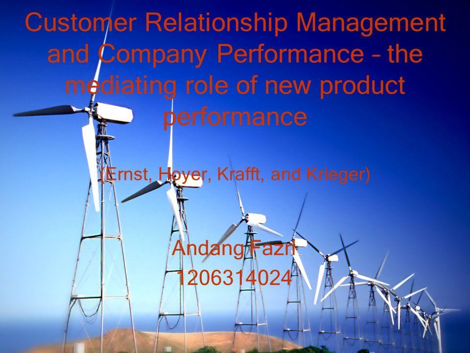 Gap Penelitian-penelitian terdahulu kebanyakan hanya meneliti hubungan CRM Process dan Company Performance pada Project Level, sehingga tidak menggambarkan CRM perusahaan secara keseluruhan.