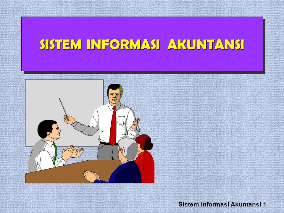 Sistem Informasi Akuntansi 1 SISTEM INFORMASI AKUNTANSI