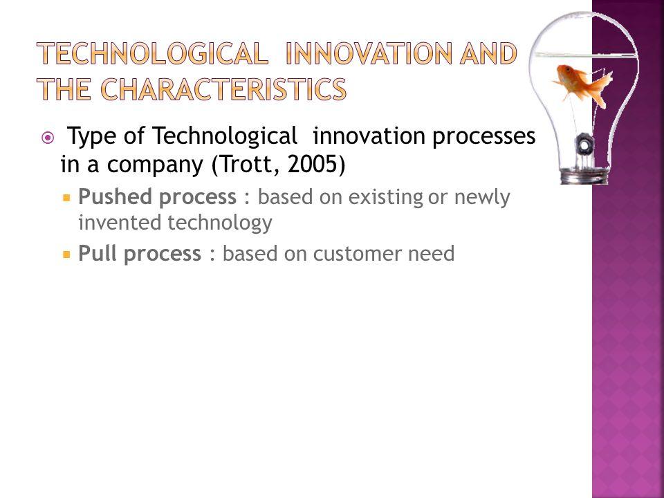 Marquis (1981) Inovasi dibagi menjadi tiga jenis yaitu : 1.Inovasi pada sistem yang kompleks yang mana inovasi ini akan memakan waktu bertahuntahun dan biaya berjuta dolar dalam pelaksanaannya.
