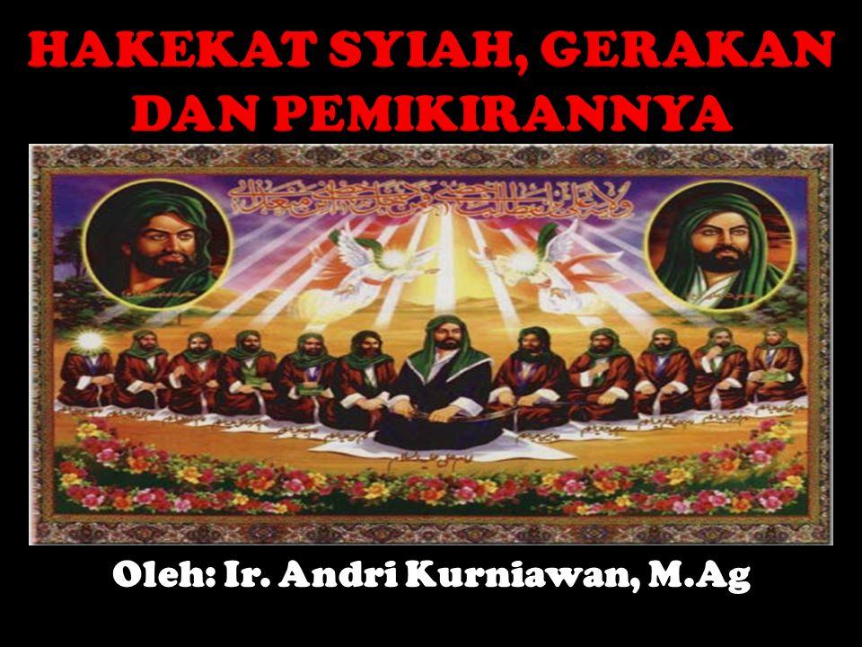Oleh: Ir. Andri Kurniawan, M.Ag