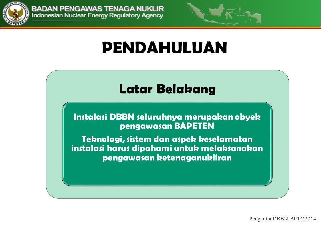 REPROCESSING Pengantar DBBN, BPTC 2014
