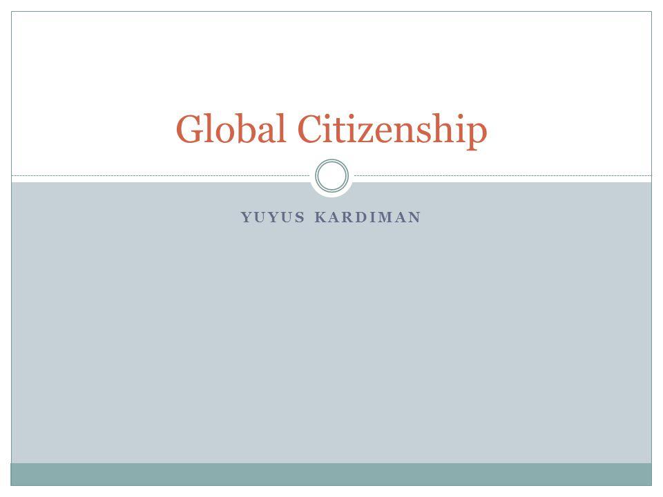 Five Common Categoris of Citizenship Attributes 1.
