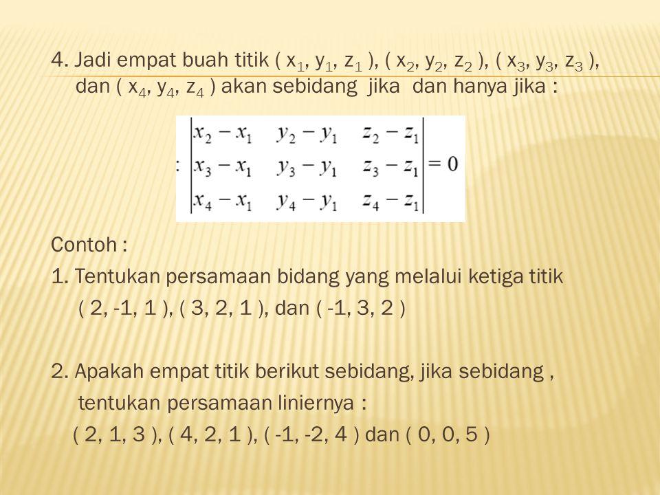 Catatan : 1.Jika n = a x b.