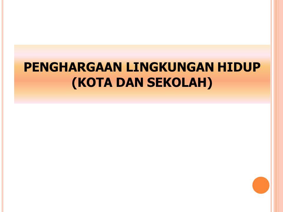 PENERIMA PENGHARGAAN SEKOLAH PEDULI DAN BERBUDAYA LINGKUNGAN (ADIWIYATA) TAHUN 2013 NONAMA SEKOLAHKABUPATENKETERANGAN Sekolah Adiwiyata Mandiri Tahun 2013 1.