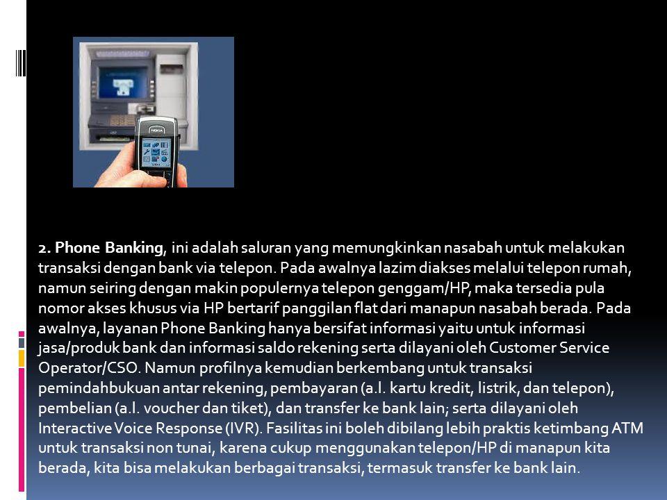 Banyak hal dalam dunia perbankan yang memanfaatkan teknologi informasi untuk menjalankan aktifitasnya, dengan pemanfaatan tersebut menjadikan kegiatan ekonomi bisa berjalan dengan lancar dan sistematis.Adapun contoh peranan teknologi informasi dalam dunia perbankan yaitu :  1.