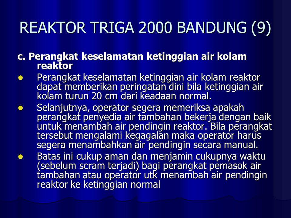 REAKTOR TRIGA 2000 BANDUNG (10) d.