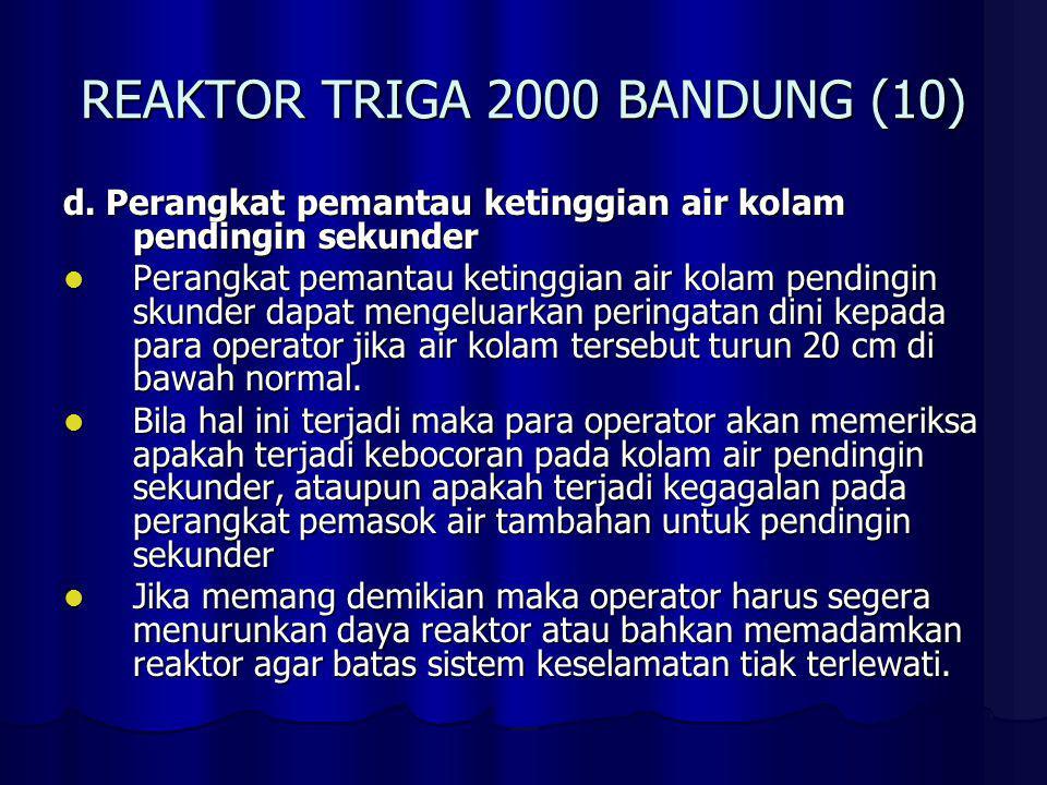 REAKTOR TRIGA 2000 BANDUNG (11) e.
