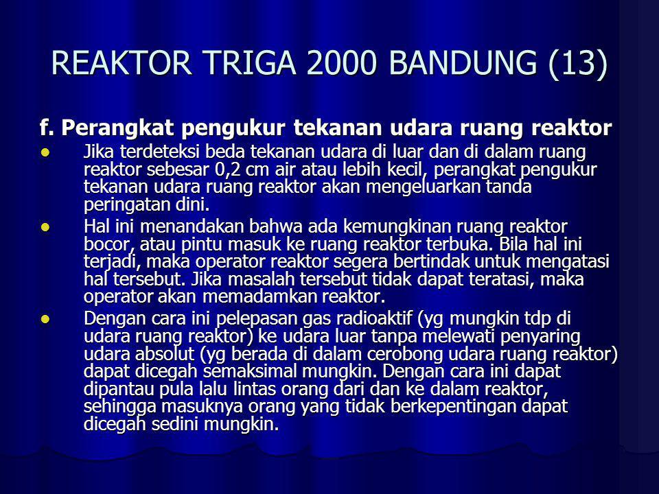 REAKTOR TRIGA 2000 BANDUNG (14) g.
