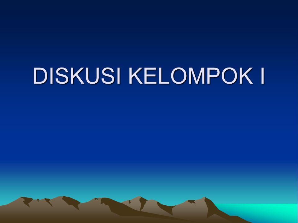 Fasilitator : –Herman Sudirman –Siti Sundari Ketua: Ekowati Retnaningsih