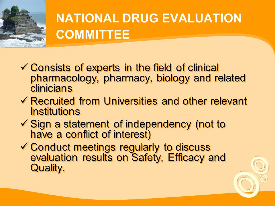 EVALUATION on EFFICACY and SAFETY  Based on Evidence Based Medicine (EBM) 1.PRECLINICAL TEST  To see toxicity profile, mutagenicity, carsinogenecity