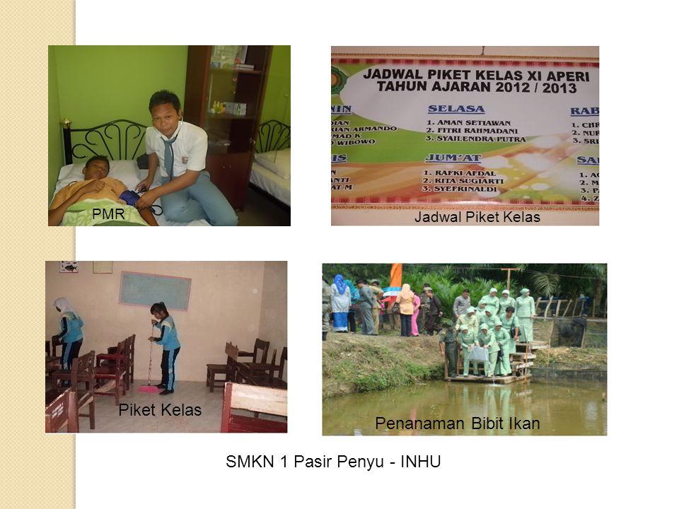 SMKN 1 Pasir Penyu - INHU PMR Jadwal Piket Kelas Piket Kelas Penanaman Bibit Ikan