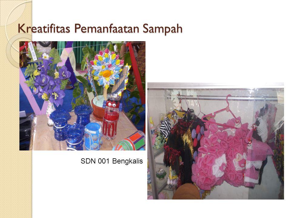 Kreatifitas Pemanfaatan Sampah SDN 001 Bengkalis