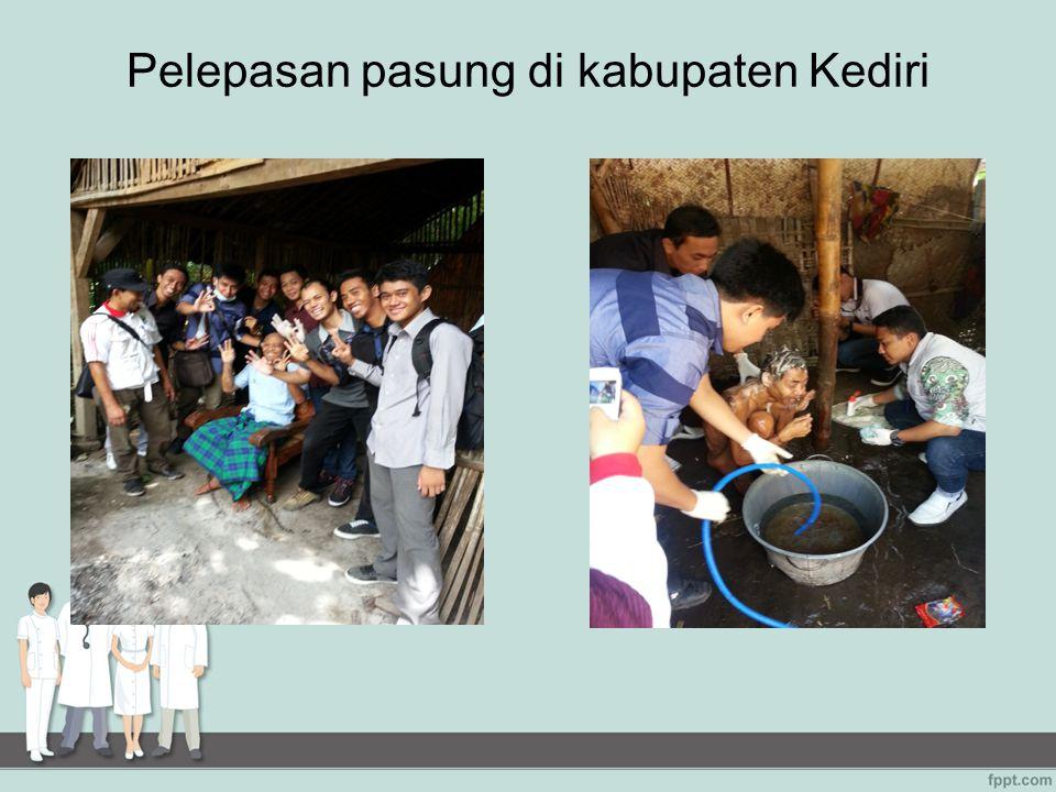 Pelepasan pasung di kabupaten Kediri