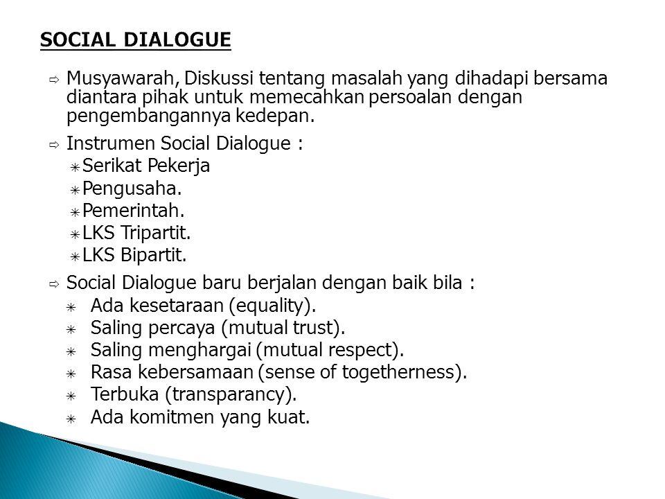  Musyawarah, Diskussi tentang masalah yang dihadapi bersama diantara pihak untuk memecahkan persoalan dengan pengembangannya kedepan.