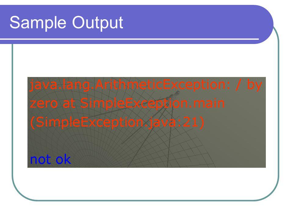 Throws and Throw throws digunakan untuk melempar exception yang mungkin terjadi di dalam sebuah method.