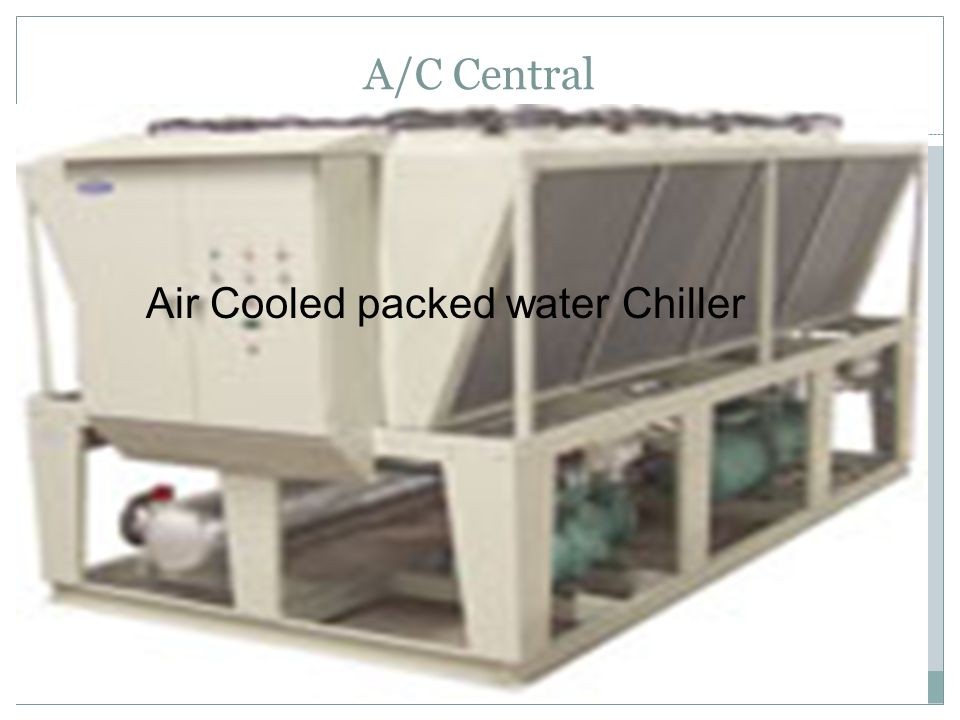 A/C Central Air Cooled packed water Chiller