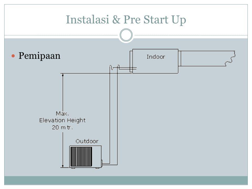 Instalasi & Pre Start Up Pemipaan