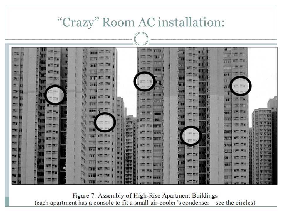 """Crazy"" Room AC installation:"