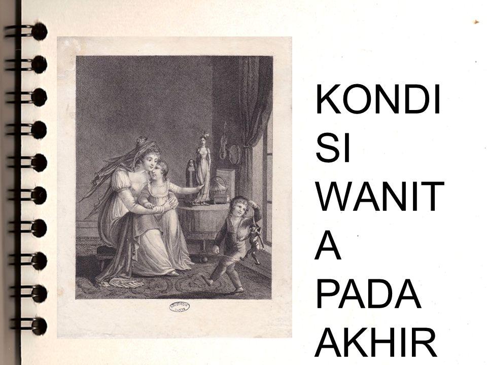 KONDI SI WANIT A PADA AKHIR ABAD KE-19