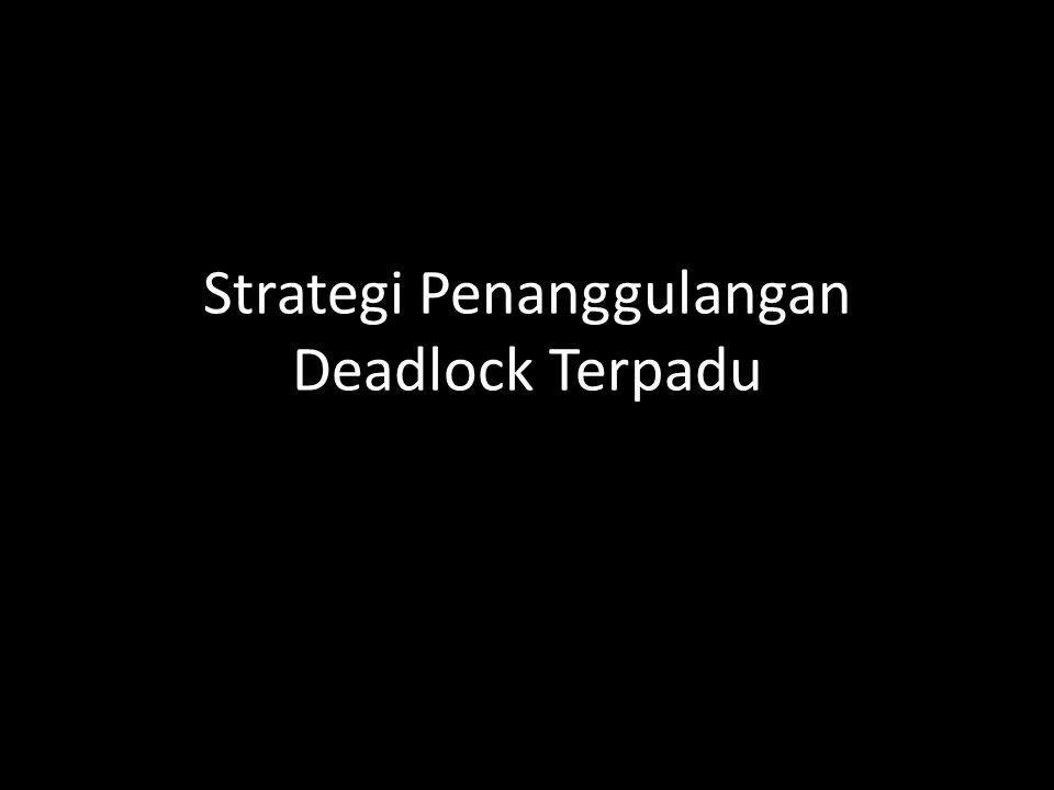 Strategi Penanggulangan Deadlock Terpadu