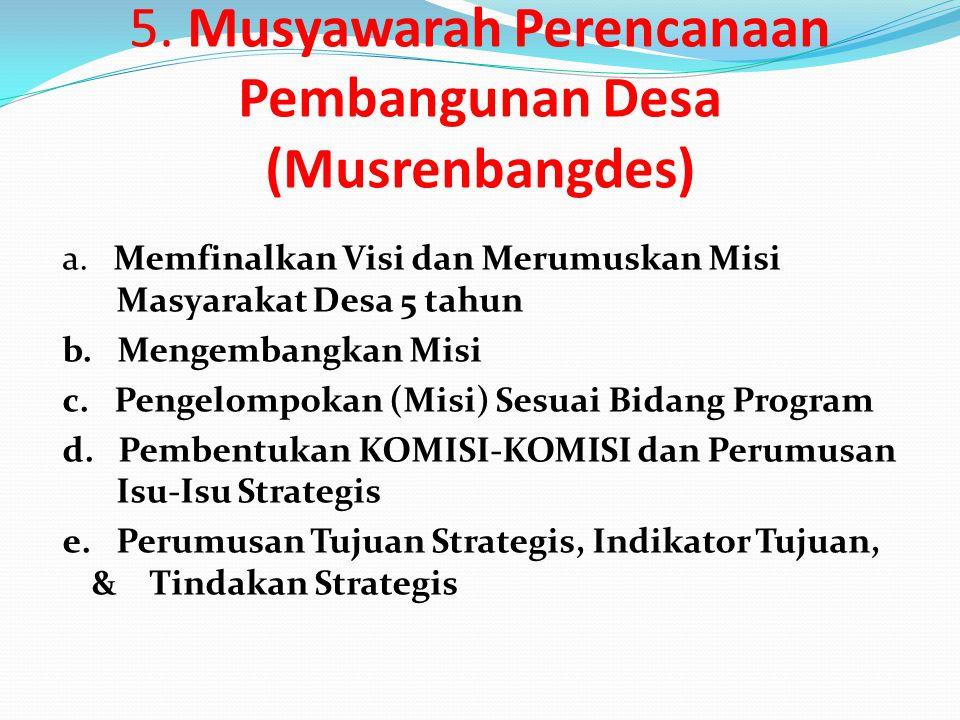 4. Refleksi, Kajian Mendalam dan Pleno Potret Desa a. Pendalaman Informasi Kajian b. Pleno Presentasi Potret Wilayah