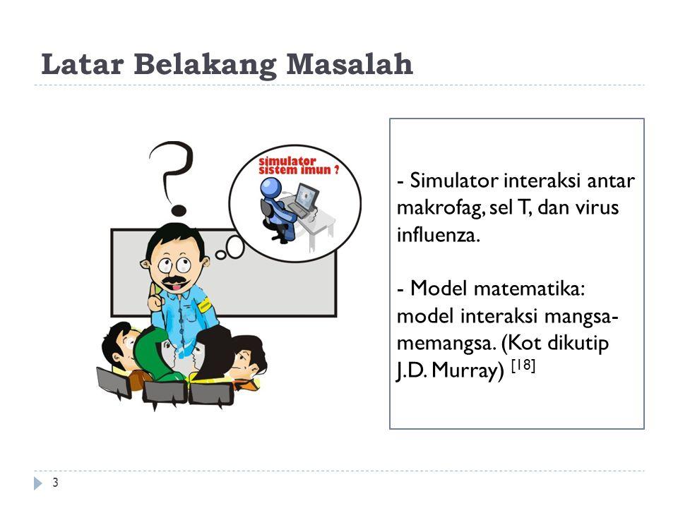  Penggunaan model interaksi ini dapat ditemukan pada beberapa penelitian yang telah dilakukan yaitu pada [4], [6], [8], [14].