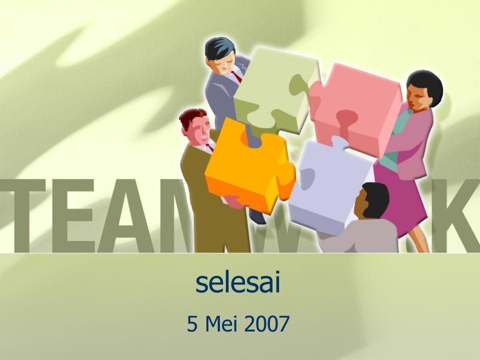 selesai 5 Mei 2007