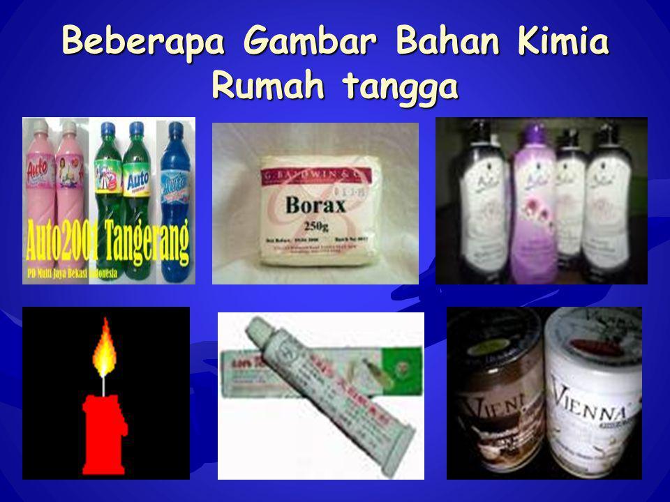 Beberapa Gambar Bahan Kimia Rumah tangga