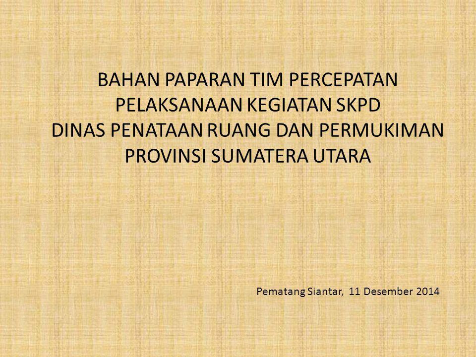 Outline : 1.Peraturan-Peraturan 2.Jenis-Jenis Belanja 3.Jenis – Jenis Kegiatan 4.Detail Enginering Desain (DED) 5.Dokumen Lelang 6.Pembangunan / Rehabilitasi Rumah Tidak Layak Huni Di Provinsi Sumatera Utara TA.