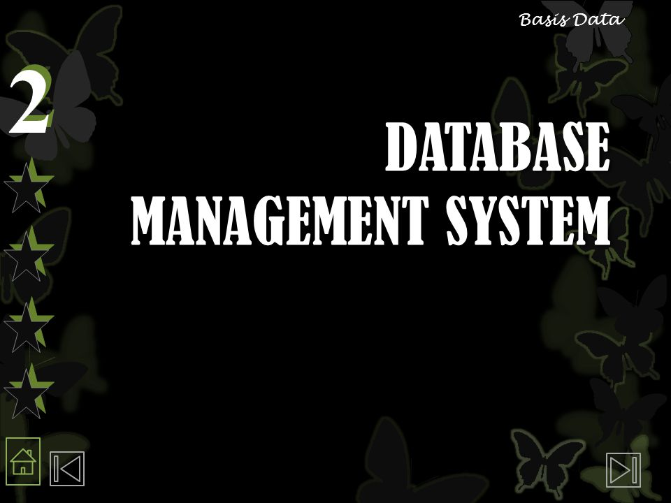 2 2 Basis Data DATABASE MANAGEMENT SYSTEM