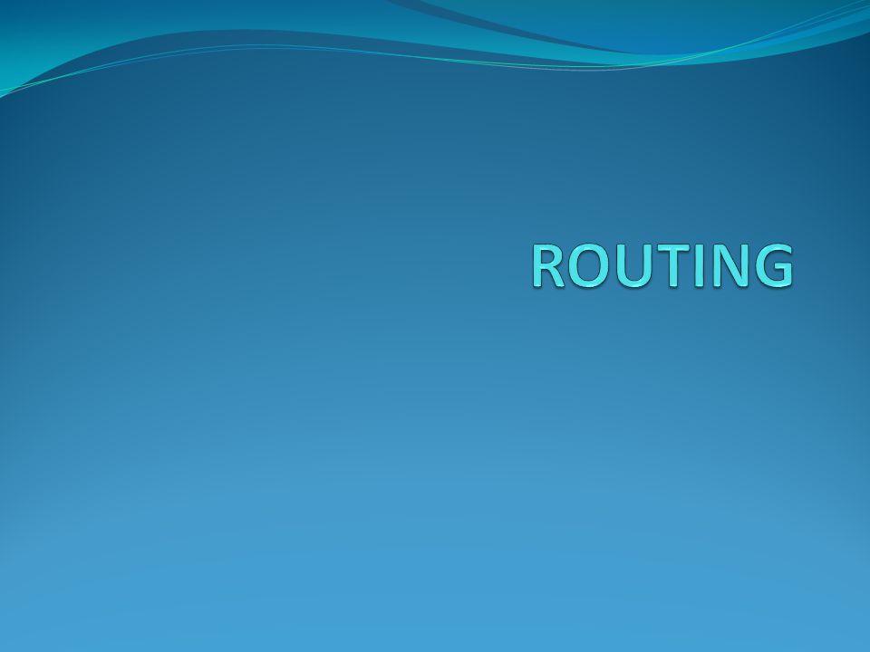  Apa itu routing  Jenis-jenis routing dilihat dari cara update tabel routingnya  Routing protocol dan jenis-jenis algoritmanya  Variabel-variabel penting dalam routing  Contoh Routing Static  Routing dinamik dengan RIP  NAT (network address translation)