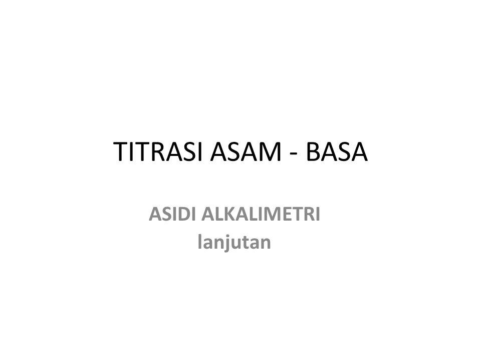 ASAM-BASA POLIFUNGSIONAL CONTOH : ASAM POLIFUNGSIONAL H 3 PO 4.